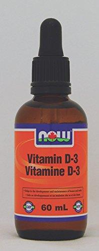 NOW VIT D-3 Kids' Liquid Drops 100 IU/Drop, 60 g
