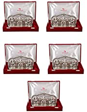 International Gift Laxmi Ganesh Sarswati with Velvet Box