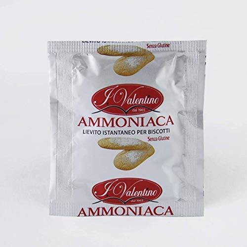 4 Bustine Ammoniaca Lievito Per Dolci Da 20g