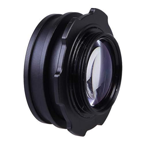 MTGJFDDFO 1.08-1.6X Visor de visualizador Magnifier Eyecup Eyecup Zoom Ajustable Ajuste de Lupa para el Ajuste de Canon para Nikon Fit para cámaras DSLR R35 (Color : Black)