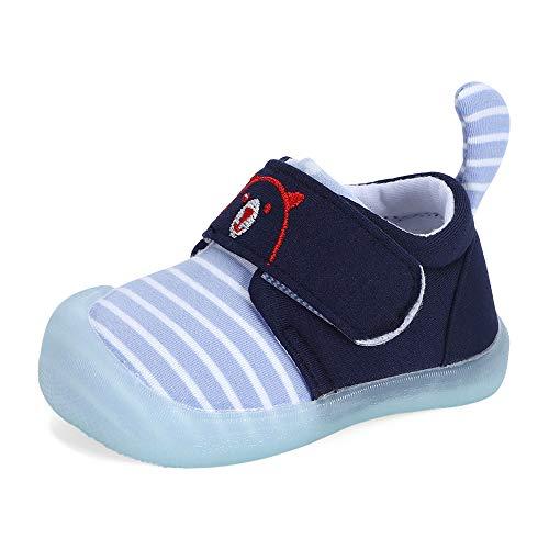 MK MATT KEELY Zapatos Bebé Niño Niña Primeros Pasos 0-2T Bebés Caminata Zapatillas Lindo Malla Antideslizante Transpirable Ligero