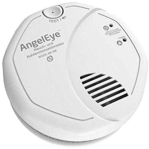 Frist Alert SCO5-AE-DER Batteriebetriebener Rauch- und Kohlenmonoxidmelder für die Anwendung in privaten Wohnbereichen, weiß