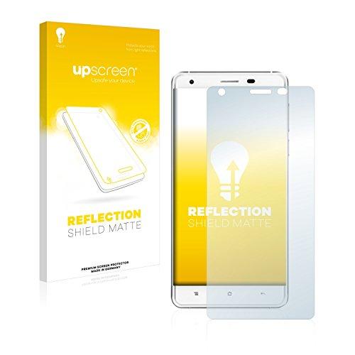 upscreen Entspiegelungs-Schutzfolie kompatibel mit Oukitel K6000 Pro – Anti-Reflex Bildschirmschutz-Folie Matt