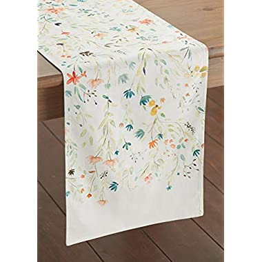 Maison d' Hermine Colmar 100% Cotton Table Runner 14.5 - inch by 72 - inch.