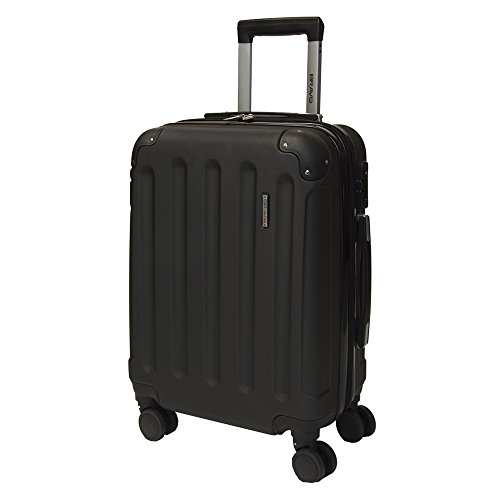 Performa Carry On 21' Inch Spinner Luggage With Wheels TSA Lock Travel Rolling Expandable Hardside Suitcase