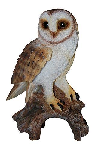 Barn Owl Real Life Ornament by Vivid Arts