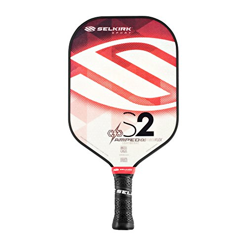 Selkirk Amped Pickleball Paddles - Made in The USA - Use The Paddle of The Pros (2019 S2 Ruby Red...