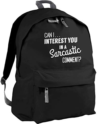 HippoWarehouse can I Interest You in a Sarcastic Comment? Backpack ruck Sack Dimensions: 31 x 42 x 21 cm Capacity: 18 litres