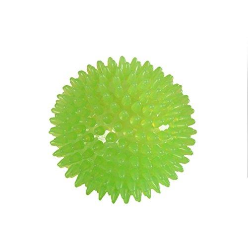 UEETEK Hund Spielzeug Ball Igelball Zahnpflege Quietscher Ball