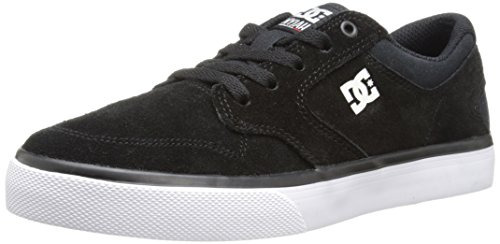 DC DC Nyjah Vulcanised Skate Shoe (Little Kid/Big Kid), Black/White, 11 M US Little Kid