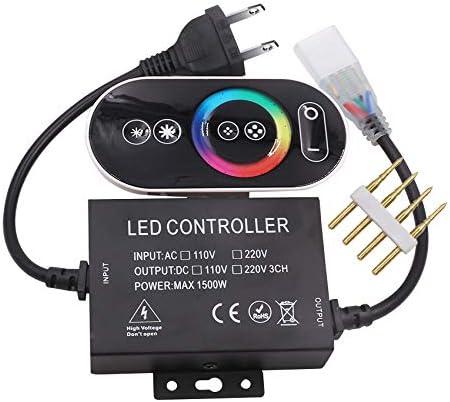 XUNATA バースデー 記念日 ギフト 贈物 お勧め 通販 110-120V 購買 1500W LED Touch Conntroller RGB Control Remote