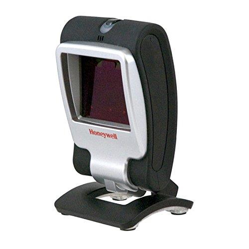 Honeywell Genesis 7580g 1D/2D Schwarz Silber Fixed Barcode Reader - Barcodeleser (1D/2D, -70-70°, 0-100000 Lux, RS-232, Schwarz, Silber)