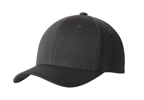 Premium Flex Fit Hat - High Performance Cool & Dry Baseball Caps in 7 Colors Magnet Grey