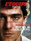 EQUIPE MAGAZINE (L') [No 1230] du 21/01/2006 - CORRUPTION TRICHE DOPAGE - EYDELIE PARLE ENFIN - EN COUVERTURE JEAN-JACQUES EYDELIE MA VERITE - SOMMAIRE - PORTFOLIO - HANDBALL ET MAINTENANT L'EURO - ENTRETIEN - CLAUDE ONESTA-OLIVIER KRUMBHOLZ - PORTRAIT - J-F LAMOUR FIDELE AU POSTE - HISTOIRE - GONZALO HIGUAIN COMME TREZEGUET - REPORTAGE - COUCOU CíEST BENICHOU - CULTURE SPORT - LES GAYS ENTRENT EN JEU