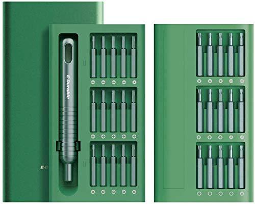 31 in 1 Mini Schraubendreher Set E·Durable S2 Bit Schraubendreher Elektriker Torx Schraubendreher Set für Handy Laptop Spielzeug Reparatur