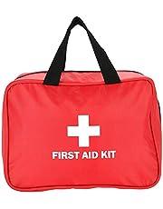 EHBO-tas, leeg Oxford-materiaal, noodtas voor outdoor-reizen (rood)
