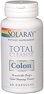 Solaray Total Cleanse Colon, Veg Cap (Btl-Plastic) 60ct