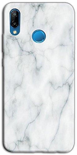 Mixroom - Cover Custodia Case in TPU Silicone Morbida per Huawei Honor View 10 Lite Fantasia Fantasia Marmo Liscio M530