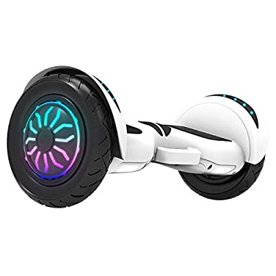 xiaoxioaguo Balance Scooter Electric Twisting Scooter Children Adult Smart Scooter Two-wheeled Off-road Two-wheeled 10-inch Adult Scooter