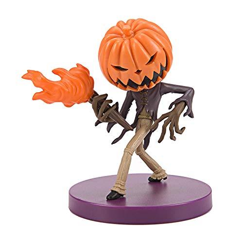 Jack Skellington Figura Re Calabaza King Pumpkin Bola Blister CHIBIKKO Pesadilla Antes de Navidad Nightmare Before Christmas Original Sega Prize Disney - Multicolor - 8cm