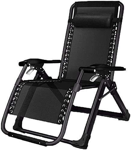LLSS Sillas reclinables de jardín, Tumbona Plegable, sillón reclinable portátil/Siesta de Oficina, Tumbona, sofá Perezoso de Oficina