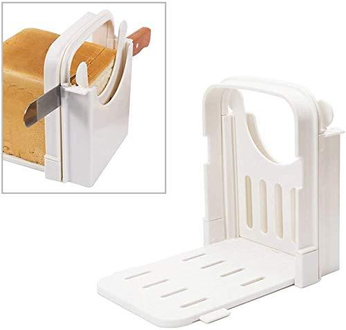 Forest パンカッター パン切り ガイド 食パンスライサー 折り畳み式 省スペース 調整可能 使いやすい 収納簡単