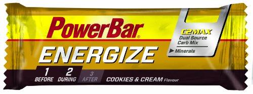 Powerbar Energize Cookies & Cream Riegel, 5er Pack (5 x 55 g)