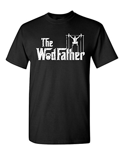 All Things Apparel WodFather Mens Tee Shirt - Med Black (ATA1505)