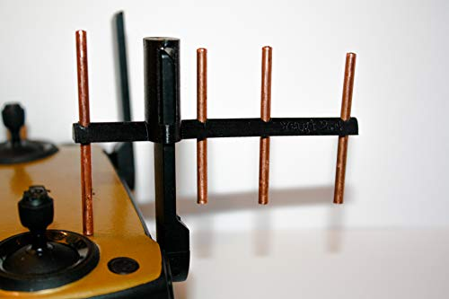 Yagi New 2020 Style Drone Prints 2.4GHz Copper Antenna Range Extender For Dji Mavic Mini (Blue)