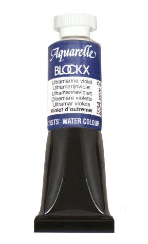Blockx Ultramarine Violet 15ml Watercolor Tube