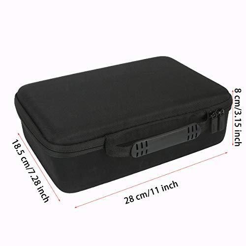 co2crea Hard Travel Case Replacement for TOPVISION 2400Lux / HOMPOW 3600L Mini Projector