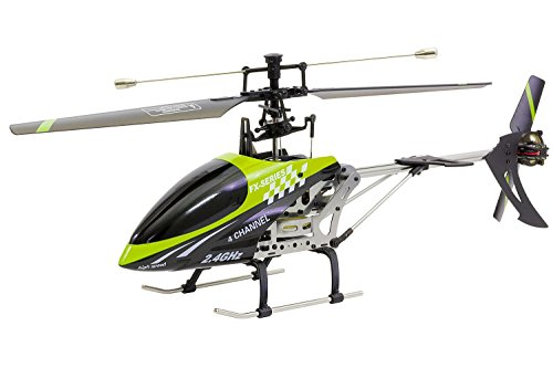 XciteRC 13011000–Flybar 400E Easy Single Blade–4Canal RTF Helicóptero