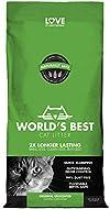 Worlds Best Cat Litter 28lb (12.7kg) Original Unscented