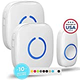 Wireless Doorbell by SadoTech – Waterproof Door Bells & Chimes Wireless Kit – Over 1000-Foot...
