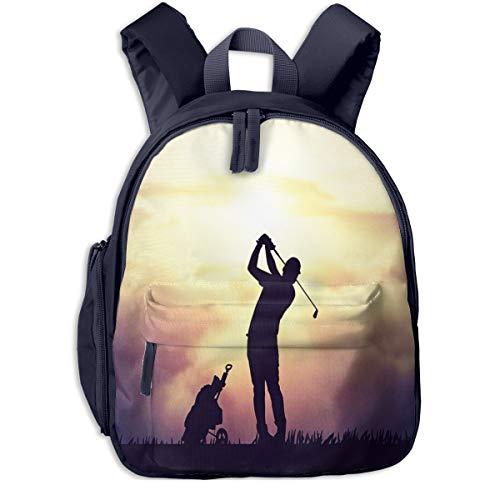 Kinderrucksack Kleinkind Jungen Mädchen Kindergartentasche Golfer Schlagen Festung Backpack Schultasche Rucksack