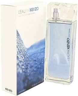L'eau Pãr Kënzõ Pour Hommé Cologné For Men 3.4 oz Eau De Toilette Spray +Free B.Vial