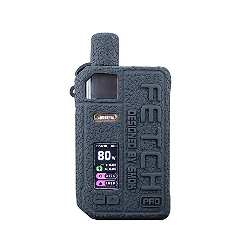DSC-Mart Texture Cover for Smok Fetch Pro 80W Silicone Case Protective Rubber Sleeve Skin Shield...