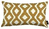McAlister Textiles Arizona | Kissenbezug für Sofa, Couch in Gelber Ocker | 60 x 40cm | Gewobenes...