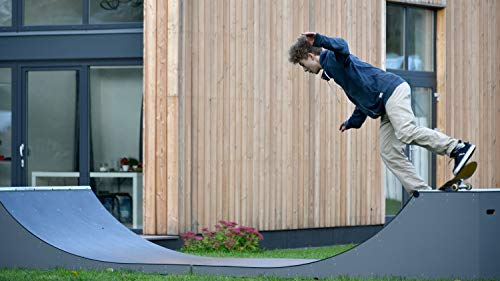 Untitled Skateboard & Scooter Ramp Outdoor Half Pipe