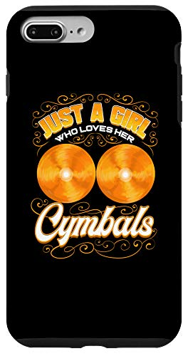 iPhone 7 Plus/8 Plus Cymbals Drummer Girl Marching Band Orchestra Cymbalist Case