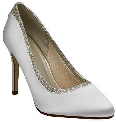 Rainbow Club Brautschuhe Billie Ivory Satin (5)