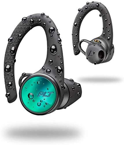Backbeat Fit 3150 Casco específico inalámbrica Bluetooth Sport-Oreja, IP57, Gancho para la Oreja, Negro,Negro