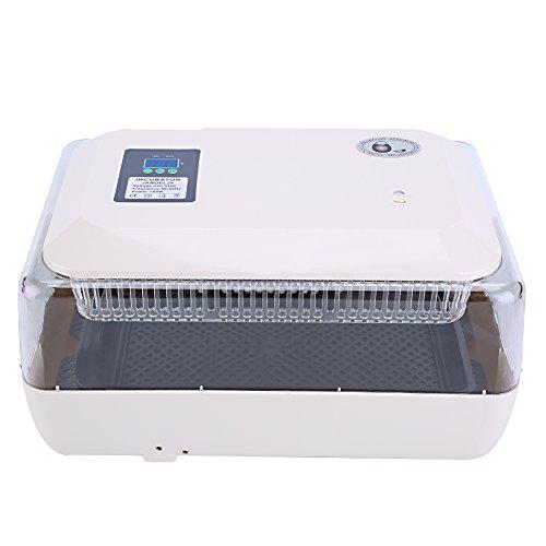 GOTOTOP Inkubator, digital, klar, für 24 Eier, Temperaturkontrolle