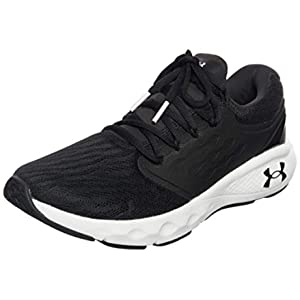 Under Armour Men's Charged Vantage Running Shoe, Black (001)/White, 11
