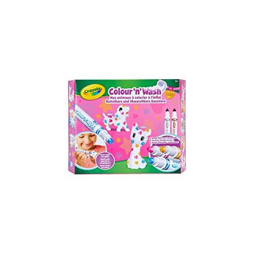 Crayola - Washimals - Emoji - Loisir créatif - washimals - Color N wash - à partir de 3 ans - Jeu de coloriage et dessin