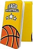 iPhone11 ケース 手帳型 バスケ バスケット バスケットボール ボール スポーツ デザイン イラ……