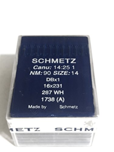 Find Discount Schmetz Industrial Sewing Machine Ball Point Needles (SIZE 14) — Designed for Sewing...