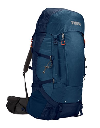Thule Guidepost Sac de Trekking Homme, Poseidon/Light Poseidon, 65 L