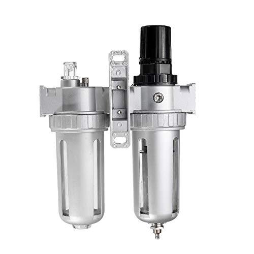 Nrpfell SFC400 1/2 Luft Kompressor Heiz?L Wasser Feuchtigkeit Schmier Stoff Abscheider Filter Luft Regler Anschluss Pneumatische Teile