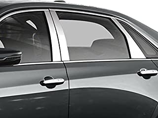 QAA fits 2016-2020 Cadillac CT6 6 Piece Stainless Pillar Post Trim PP56231